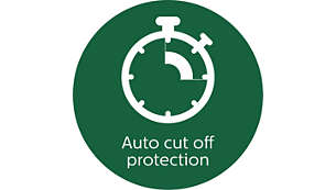 Auto cut off protection for safety of the mixer motor life