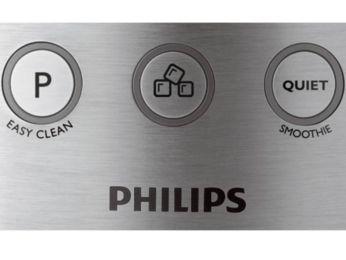 Funkcja pulsacji i tryb cichej pracy — za dotknięciem przycisku