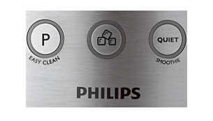 Impulsfunktion und leiser Modus auf Knopfdruck