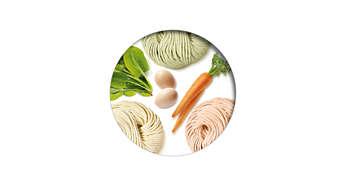 Agregue diferentes ingredientes para personalizar el sabor