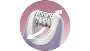 Visibilidad e higiene gracias al sistema de depilación abierta