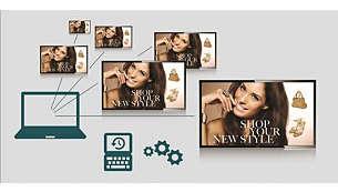 Hallitse videoseinääsi etänä SmartControlin avulla