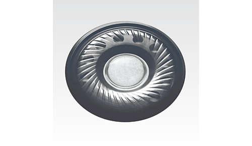 40 mm neodymium-luidsprekerdrivers leveren uitstekende geluidshelderheid