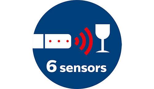 Sensores infrarrojos para detectar y evitar obstáculos