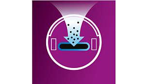 Odkurzacz automatyczny wykrywa najbrudniejsze miejsca, aby lepiej je wyczyścić