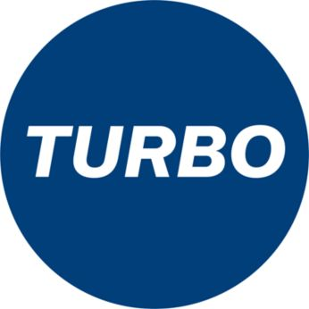 Режим за засмукване TURBO за интензивно почистване