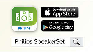 Philips companion app simplify wireless speaker setup