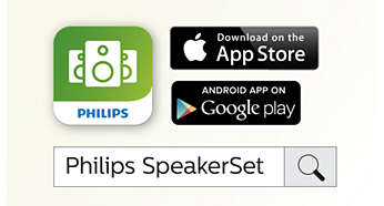 Philips companion app simplifies wireless speaker setup