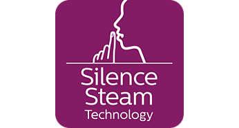 Silent Steam-Technologie: hohe Dampfleistung bei minimalem Geräuschpegel