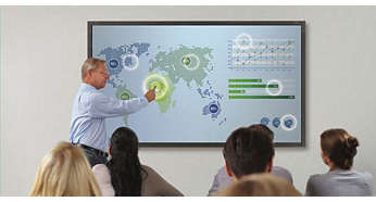 Experience amazing interactivity with true Multi-Touch