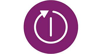 Arrêt automatique pour plus de tranquillité d'esprit et des économies d'énergie