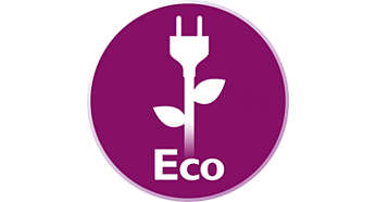 Ahorro de energía con el modo ECO