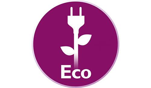 Saving energy with ECO mode