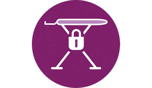 Ontworpen voor veilig strijken: kinder- en transportbeveiliging