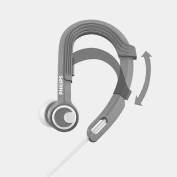 Tour d'oreille réglable pour un confort personnalisé