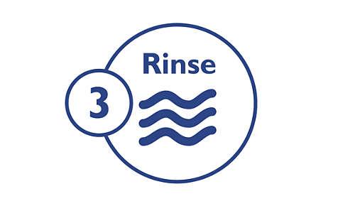 Step 3: Rinse