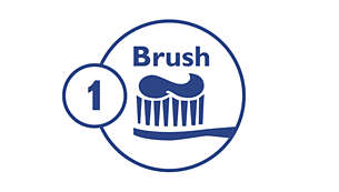 Step 1: Brush