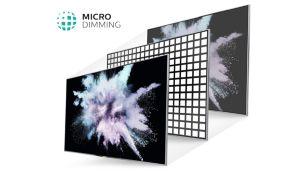 Технология Micro Dimming оптимизирует контрастность изображения на экране телевизора