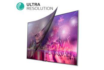 La resolución Ultra convierte cualquier contenido en una imagen Ultra HD nítida