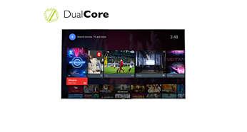 Tehokas Dual Core -suoritin ja Android-käyttöjärjestelmä