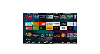 Google Play store ve Philips app gallery: TV'nin ötesinde