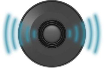 Philips Double-Ring-Technologie für einen satten, kraftvollen Bass