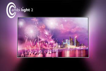 """Ekrano apšvietimo funkcija """"Ambilight"""" amžiams pakeis televizoriaus žiūrėjimo būdą"""