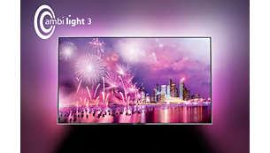 مع Ambilight ستتغيّر نظرتك إلى أجهزة التلفزيون إلى الأبد