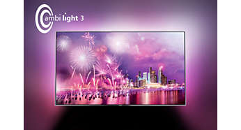 O Ambilight muda para sempre a forma como vê os televisores