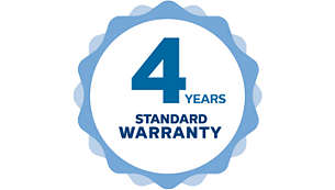 Xenon LongerLife lamps come with a 4 year warranty for free.