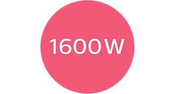 1600W로 효율적이고 부드러운 드라이