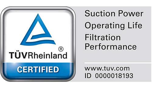 TÜV-zertifiziert für glaubwürdige Ergebnisse