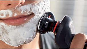 För extra hudskydd, används med raklotion