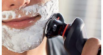 Для дополнительной защиты кожи используйте крем для бритья