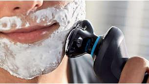 면도 시 쉐이빙 크림을 함께 사용하여 피부 손상 방지