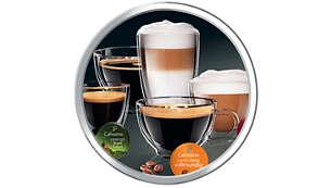 Kaffeevielfalt auf Knopfdruck