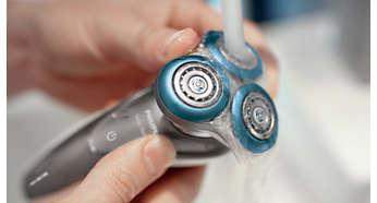 Aparat za brijanje može se isprati pod mlazom vode