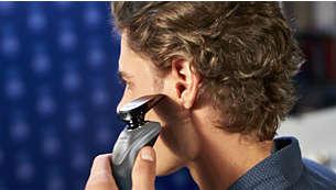 SmartClick 精確修髮器,適用於鬍子和鬢角