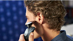 SmartClick precision trimmer for mustache and sideburns