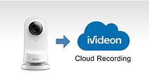 Pretakanje in shranjevanje videa v oblaku, ki ju omogoča Ivideon