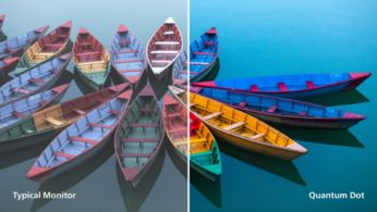 Quantum Dot Tech for see-it-to-believe-it color