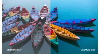 Tehnologie Quantum Dot, pentru culori de o calitate incredibilă
