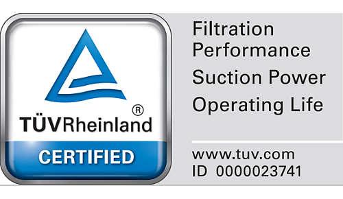 Certificado TÜV para unos resultados de confianza