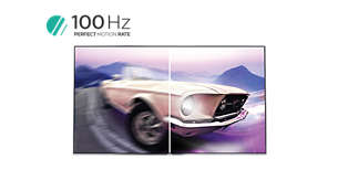 100Hz PMR for sharp moving images
