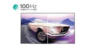 100Hz technologie PMR pro ostrý pohyblivý obraz