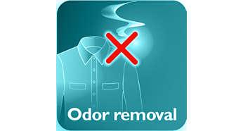 Elimina el olor a cigarrillo, a comida y a malos olores del cuerpo