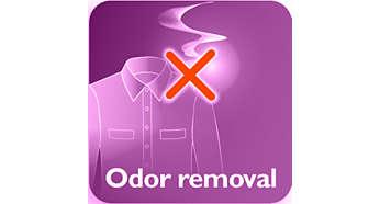 إزالة رائحة السجائر والطعام وإفرازات الجسم