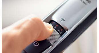17hauteurs de coupe verrouillables, de 0,4mm à 7mm, précision de 0,2mm