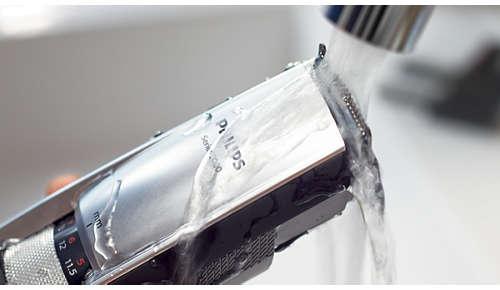 100% abwaschbar für eine einfache, gründliche Reinigung