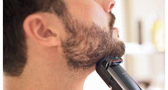 Používajte každý deň nastavenie 0,4mm a uchovajte si dokonalé 3-dňové strnisko